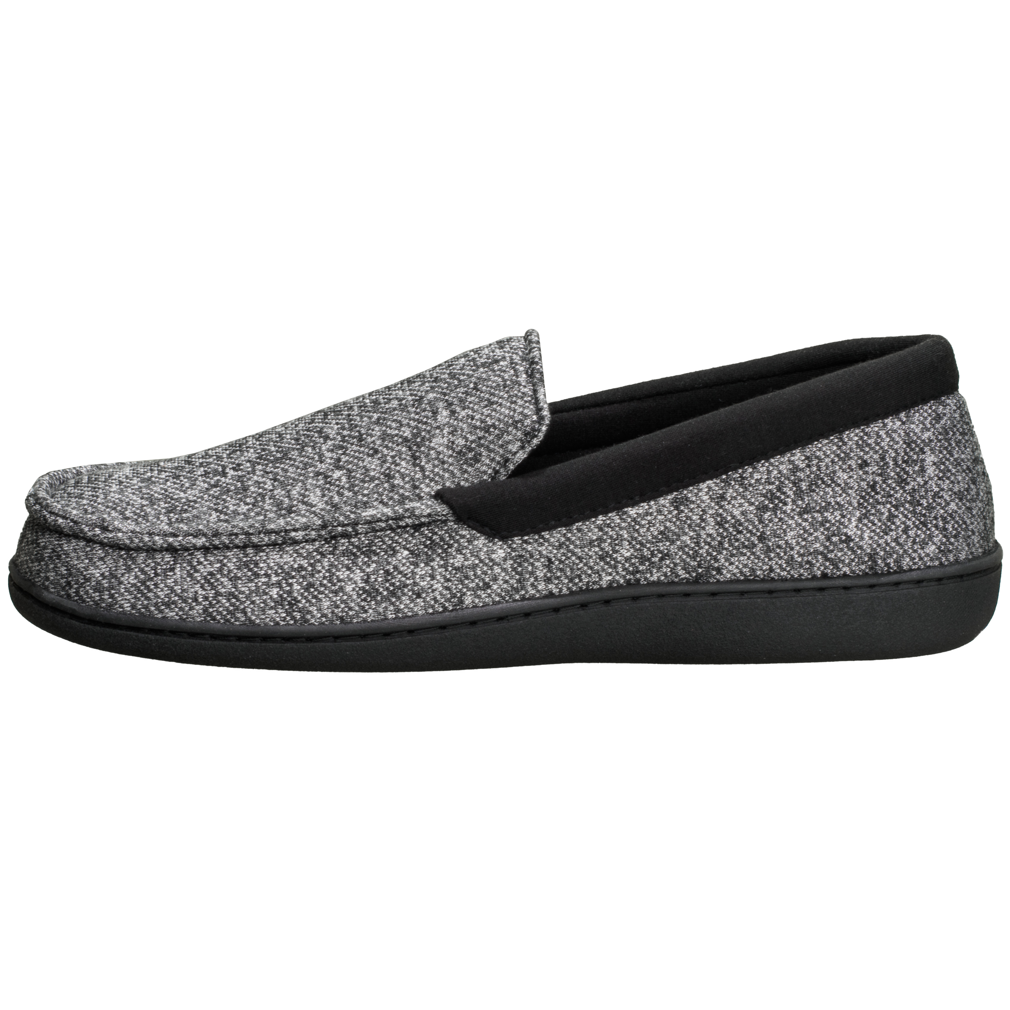Hanes Mens Slippers House Shoes Moccasin Comfort Memory Foam Indoor Outdoor Fresh IQ